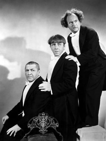 The Three Stooges, Curly Howard, Moe Howard, Larry Fine