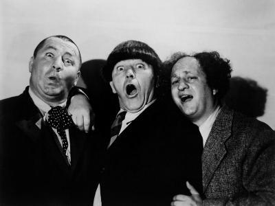 The Three Stooges, Curly Howard, Moe Howard, Larry Fine, 1940s