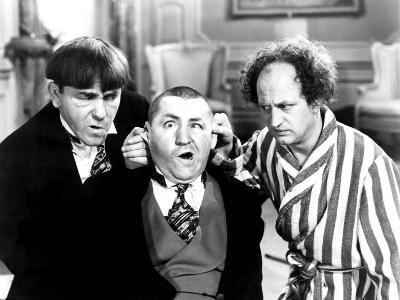 The Three Stooges, Moe Howard, Curly Howard, Larry Fine, 1940s