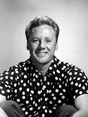 Van Johnson, Wearing a Polka Dot Shirt, Late 1940s