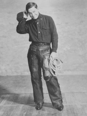 Portrait of Will Rogers, Early Portrait