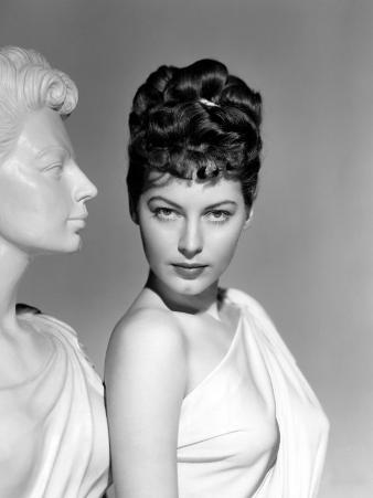 One Touch of Venus, Ava Gardner, Portrait with Greek Statue, 1948