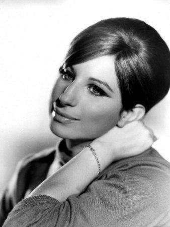 Barbra Streisand, Portrait from Funny Girl, 1968
