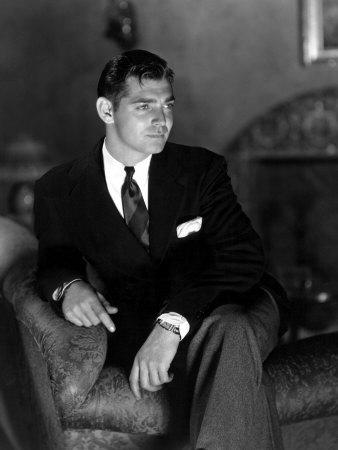 Clark Gable, April 13, 1933