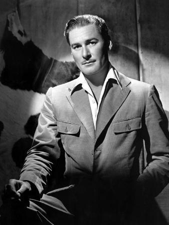 Errol Flynn, November 19, 1943