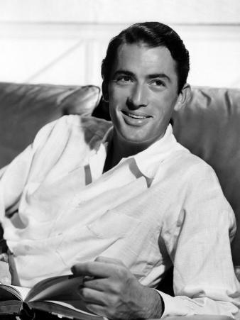 Gregory Peck in the Late 1940s