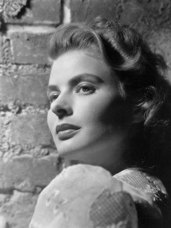 Portrait of Ingrid Bergman