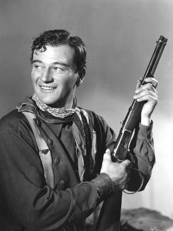 John Wayne in Costume for Stagecoach, 1939