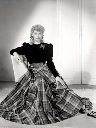 Lucille Ball in a Portrait, 1940's