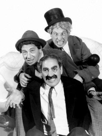 Marx Brothers - Groucho Marx, Chico Marx, Harpo Marx, 1936