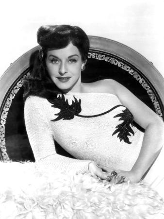 Portrait of Paulette Goddard, c.1940s