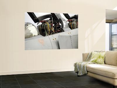 Cockpit of a Norwegian F16