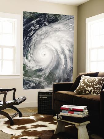 October 21, 2005, Hurricane Wilma Over Mexico