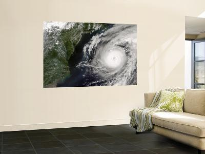Hurricane Alex off the United States East Coast (Afternoon Overpass)