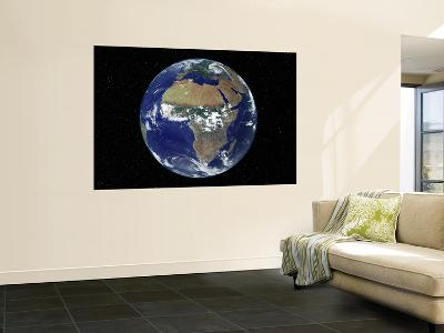 Full Earth Showing Africa, Europe During Day, 2001-08-07