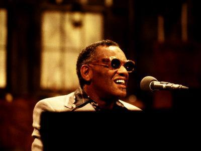 Ray Charles Performing on Saturday Night Live, 1977
