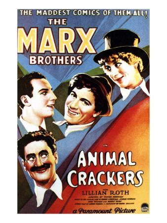 Animal Crackers, Groucho Marx, Zeppo Marx, Chico Marx, Harpo Marx, 1930