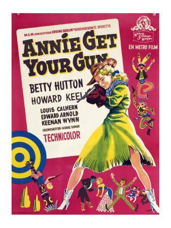 Annie Get Your Gun, Betty Hutton, 1950