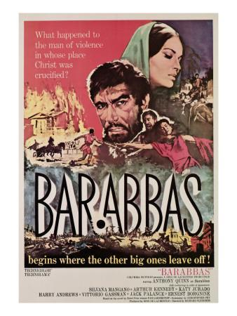 Barabbas, Anthony Quinn, Silvana Mangano, 1962