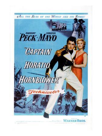 Captain Horatio Hornblower, Gregory Peck, Virginia Mayo, 1951