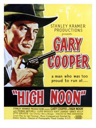 High Noon, Gary Cooper, 1952