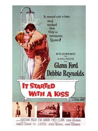 It Started with a Kiss, Debbie Reynolds, Glenn Ford, 1959