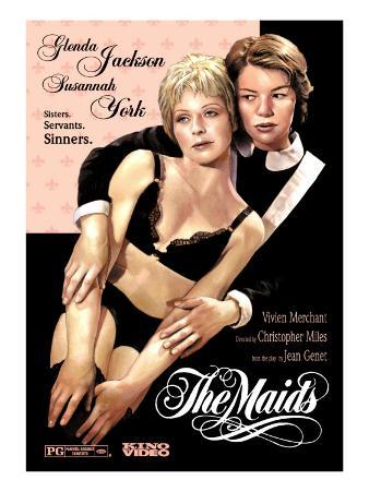 The Maids, Susannah York, Glenda Jackson, 1973