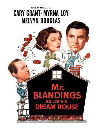 Mr. Blandings Builds His Dream House, Melvyn Douglas, Myrna Loy, Cary Grant, 1948