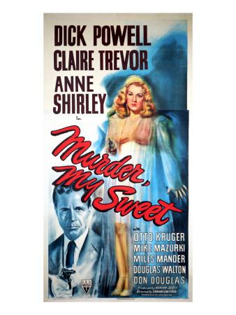Murder, My Sweet, Dick Powell, Claire Trevor, 1944