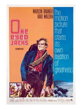 One-Eyed Jacks, Marlon Brando, 1961