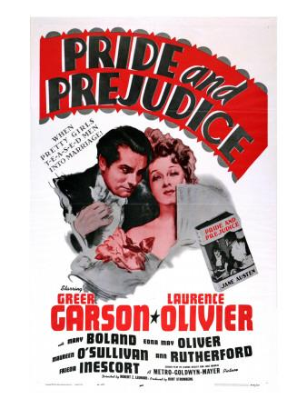 Pride and Prejudice, Laurence Olivier, Greer Garson, 1940