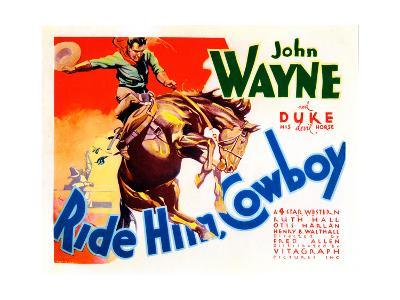 Ride Him Cowboy, John Wayne, 1932