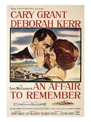 An affair to remember Cary Grant vintage movie poster print 4