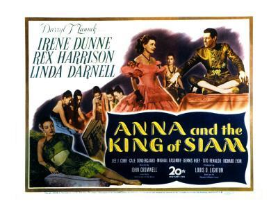 Anna and the King of Siam, Linda Darnell, Irene Dunne, Rex Harrison, 1946