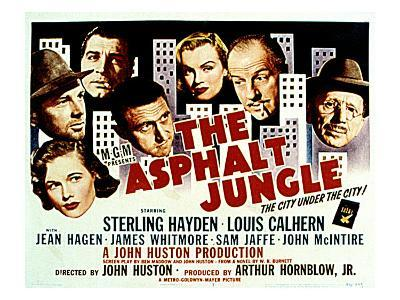 The Asphalt Jungle, with Jean Hagen, Sterling Hayden, Anthony Caruso, and Marilyn Monroe, 1950