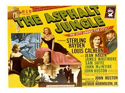 The Asphalt Jungle, with James Whitmore, Marilyn Monroe, and Louis Calhern, 1950