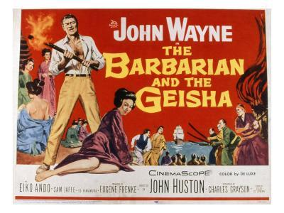 The Barbarian and the Geisha, John Wayne, Eiko Ando, 1958
