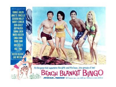Beach Blanket Bingo, Frankie Avalon, Annette Funicello, Mike Nader, 1965
