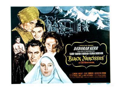 Black Narcissus, David Farrar, Sabu, Jean Simmons, Deborah Kerr, Kathleen Byron, 1947
