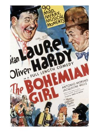 The Bohemian Girl, Oliver Hardy, Stan Laurel, 1936
