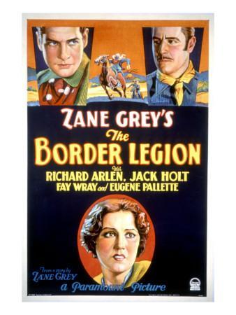 Border Legion, Richard Arlen, Jack Holt, Fay Wray, 1930
