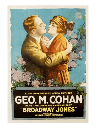 Broadway Jones, George M. Cohan, Marguerite Snow, 1917