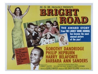 Bright Road, Dorothy Dandridge, Harry Belafonte, 1953