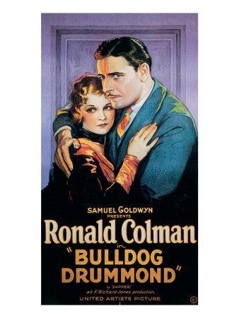 Bulldog Drummond, Joan Bennett, Ronald Colman, 1929