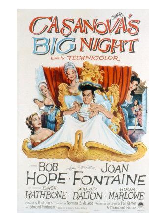 Casanova's Big Night, Joan Fontaine, Bob Hope, Audrey Dalton, 1954