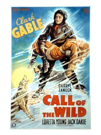The Call of the Wild, Clark Gable, Loretta Young, 1935
