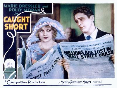 Caught Short, Anita Page, Charles Morton, 1930