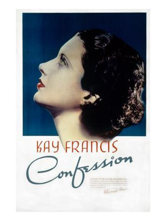 Confession, Kay Francis, 1937