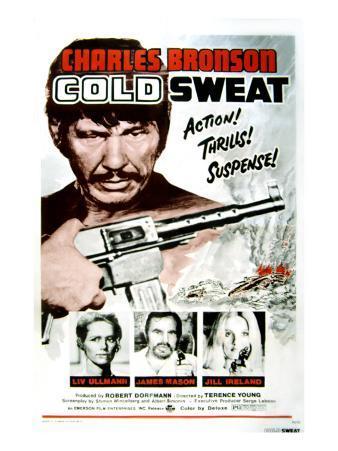 Cold Sweat, Charles Bronson, Liv Ullmann, James Mason, Jill Ireland, 1970
