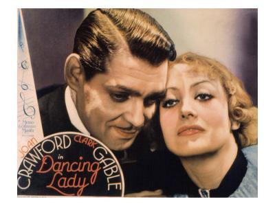 Dancing Lady, Clark Gable, Joan Crawford, 1931